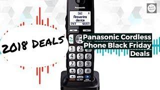 Panasonic Cordless Phone Black Friday Deals