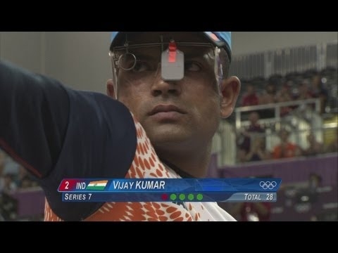 Cuba's Leuris Pupo Wins 25mRapid Fire Pistol Gold - London 2012 Olympics
