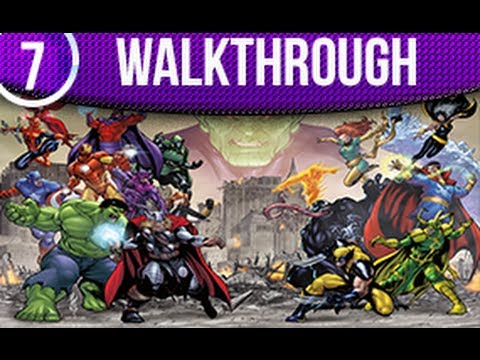 Marvel Avengers Battle For Earth Walkthrough kinect Part 7 Ending