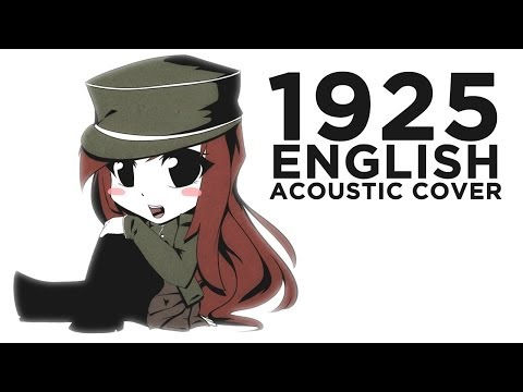 🎸 ENGLISH COVER ║ 1925 (Acoustic Version) ║ Shellah