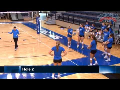 Discover a Fun Warm-Up Drill for Volleyball! - Volleyball 2015 #18