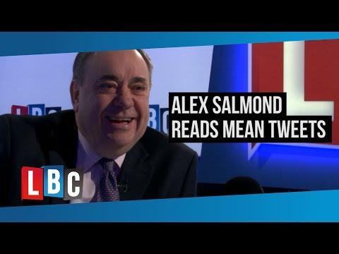 Alex Salmond Reads Mean Tweets