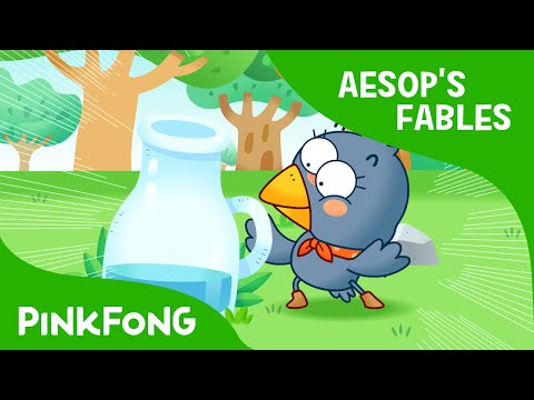 The Thirsty Crow   Aesop's Fables   PINKFONG Story Time for Children