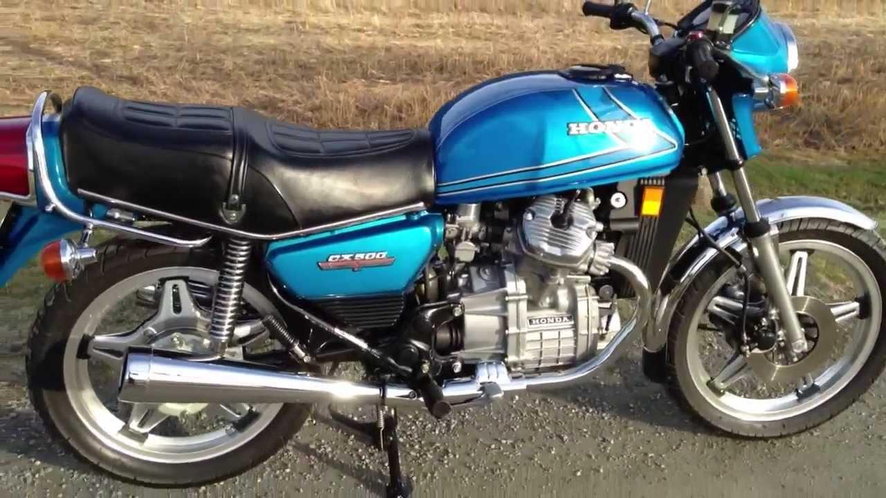 Honda Cx500 For Sale >> 1978 Honda CX500 - Original and unrestored - YouTube