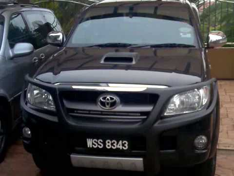 Hilux LED light..