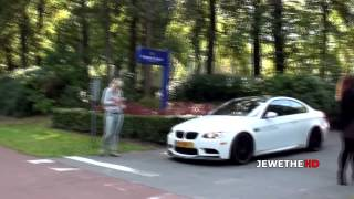 BMW Mosselman M3 E92 MSL POWERSLIDE and Sounds! 1080p Full HD