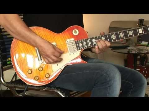 2003 Gibson Les Paul 59 Reissue Dave Johnson Historic Makeover Part5