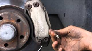 How to Install Mercedes Brake Pads | Front Brake Pads for W211 E Class
