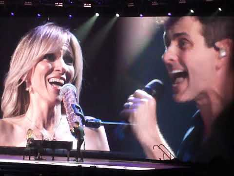 "Debbie Gibson & Joey McIntyre from NKOTB ""Lost In Your Eyes"" (Live in St Louis MO 05-08-2019)"
