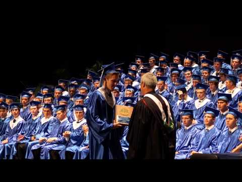 Jesuit High School (Tampa), Graduation 2013 Awards, Straz Center, 5-29-13