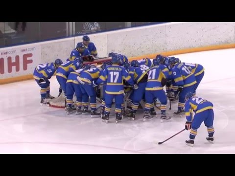 2016 IIHF WM U20 IB. Ukraine - Poland - 0:1 OT (Highlights)