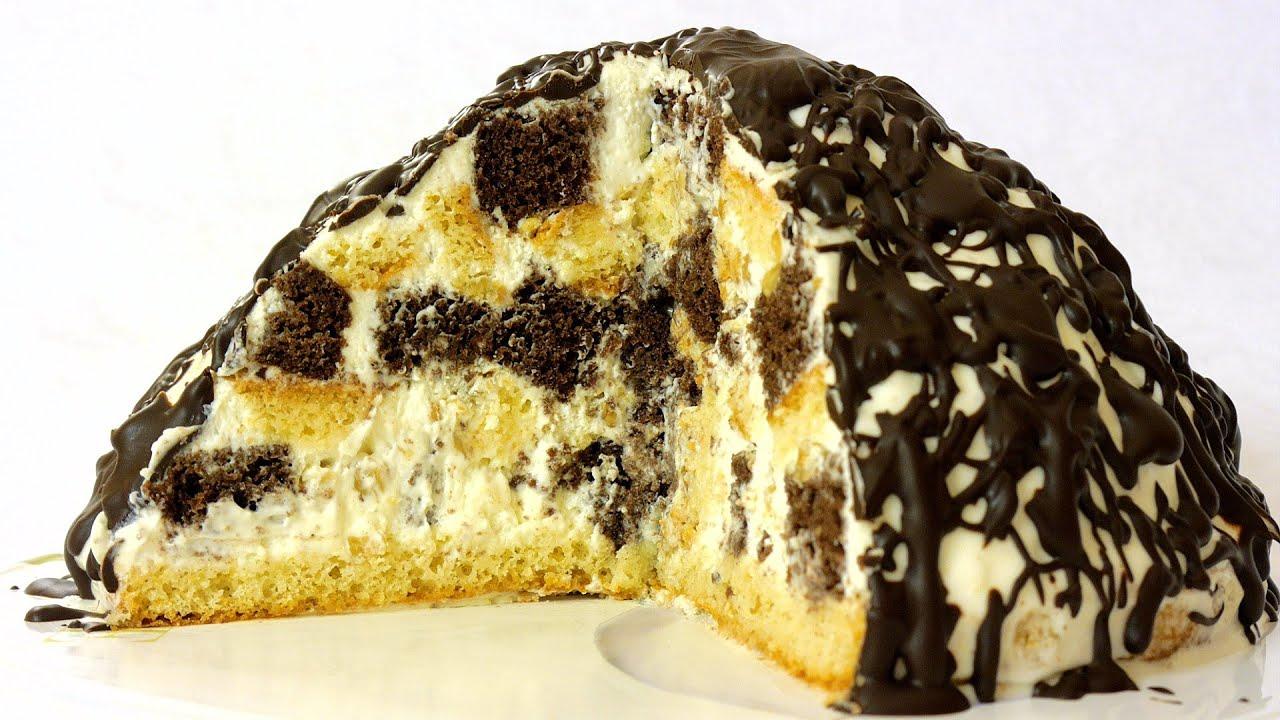 Как сделать торт панчо с коржами
