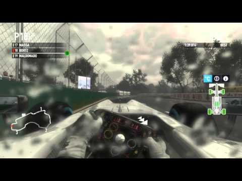 F1 2011 Melbourne Race Highlights with Commentary