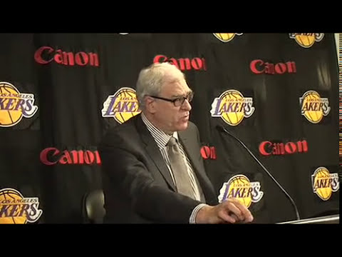 Lakers Coach Phil Jackson on 104-94 victory over Golden State Warriors