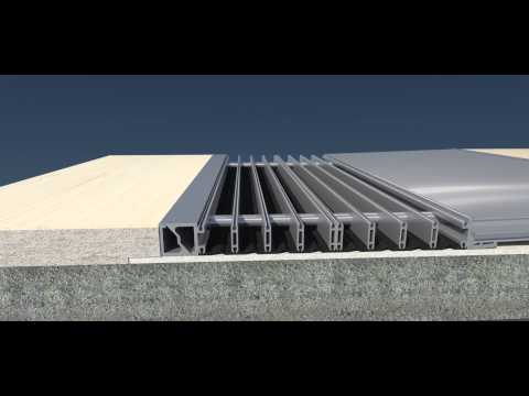 K3D Expansion Joint Profiles for Base Isolated Buildings