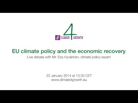 EU climate policy and the economic recovery