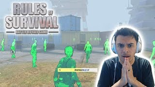 Is Medal Hacking!? - Rules of Survival: Battle Royale