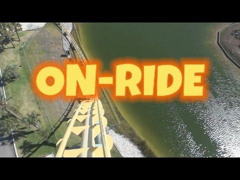 Steel Eel On-ride Front Seat (HD POV) Sea World San Antonio