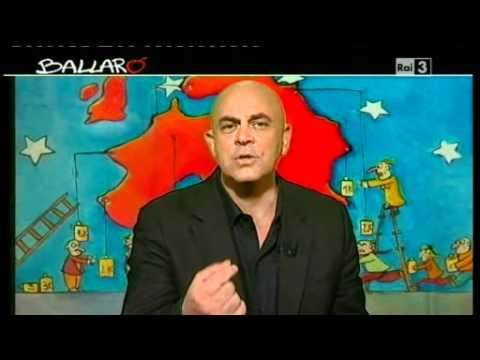 """Ballarò – MAURIZIO CROZZA – 12/06/2012 """"La Fornero e la conta degli esodati"""""""