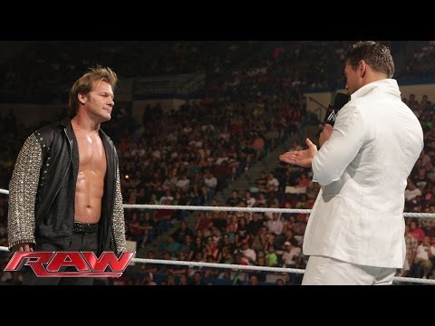 Chris Jericho And The Miz Return To Wwe: Raw, June 30, 2014 video