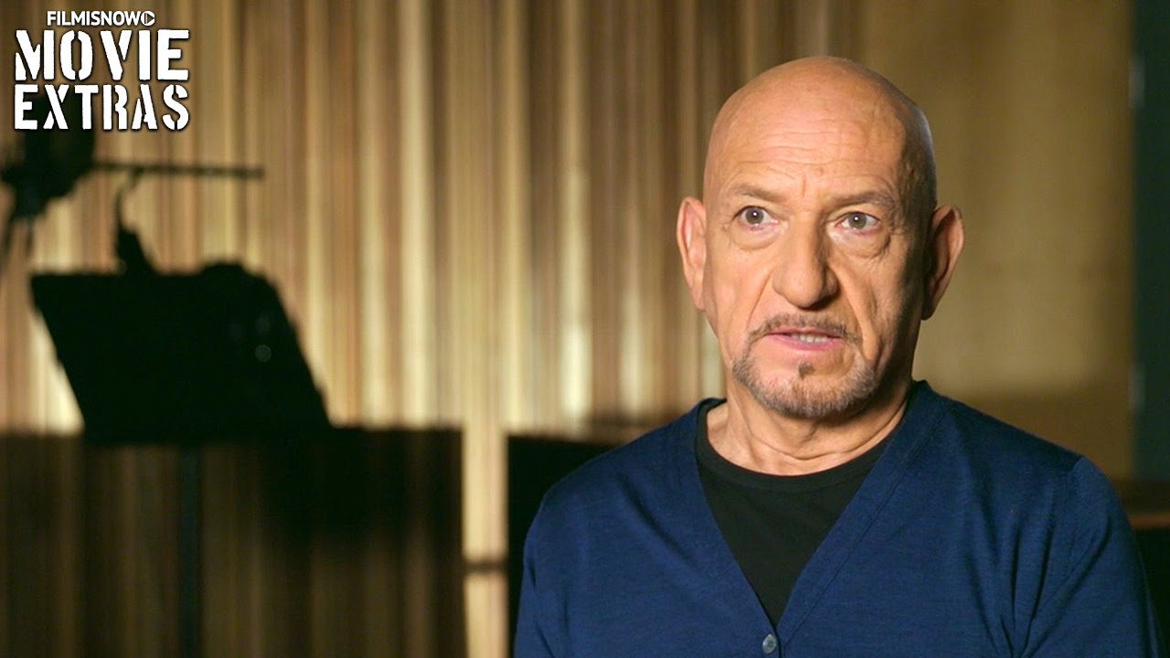 The Jungle Book | On-Set with Sir Ben Kingsley 'Bagheera' [Interview]