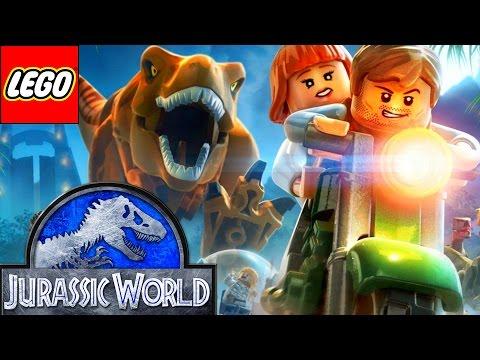 ЛЕГО Парк юрского периода мультик на русском. Лего мультик про динозавров. LEGO Jurassic World