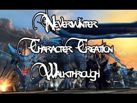 Massively - Neverwinter Beta - Character Creation Walkthrough
