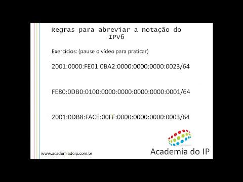 Curso de IPv6 gratuito - Aula 2 - Apresentando o IPv6