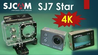 SJCAM SJ7 Star Native 4K Action Camera