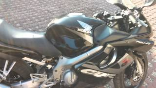 Honda CBR 600 F4i Akrapovic with DB Killer