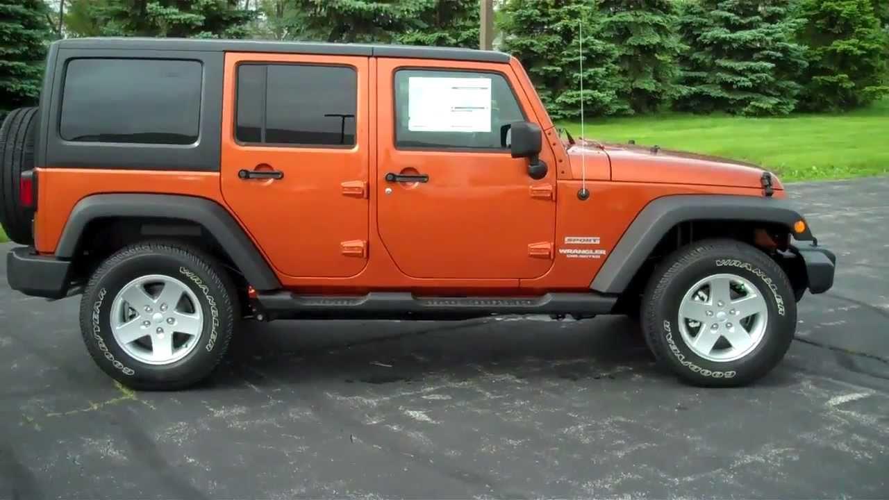 New 2011 Jeep Wrangler Sport Unlimited Lochmandy Motors