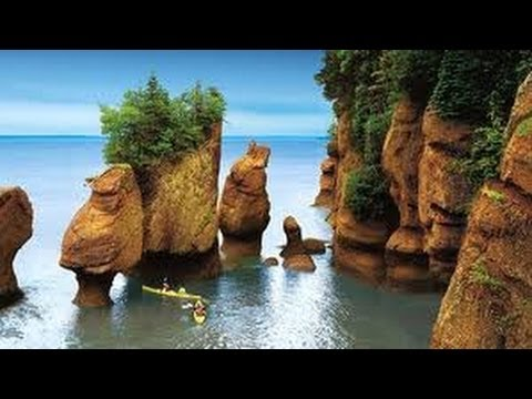 Bay Of Fundy, Hopewell Rock, New Brunswick
