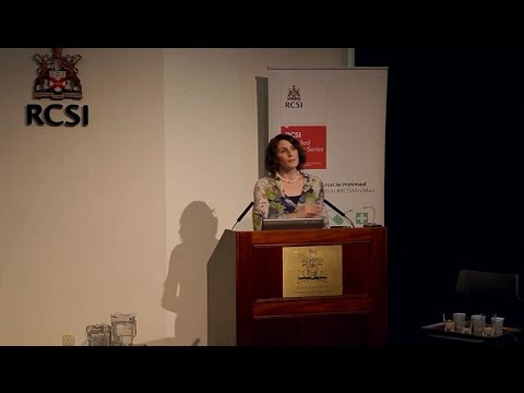 RCSI MiniMed Lecture Series 2014/2015 - 'Mental Health Matters' - Helen Coughlan