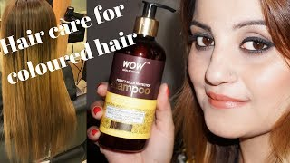 Hair Care For Colored Hair -WOW Skin Science Hair Conditioner & WOW Perfect Color Protection Shampoo