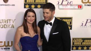 Jensen Ackles, Jared Padalecki, Danneel Harris at Critics