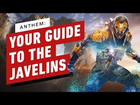 Как использовать Javelins в Anthem?