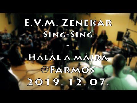[ÉLŐ] E.V.M. koncert 2019. 12. 07. - Sing-Sing - Halál a májra @Farmos