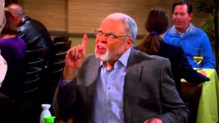 The Big Bang Theory - Sheldon meets James Earl Jones S07E14 [HD]