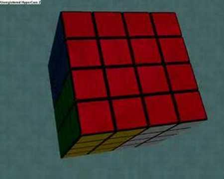 4x4 cube patterns