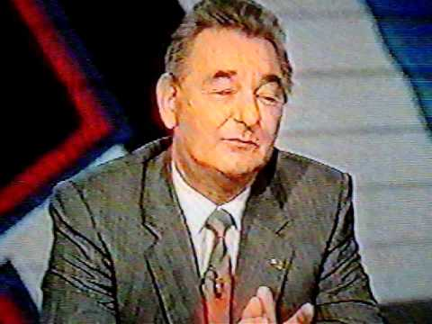 Brian Clough drunk on tv