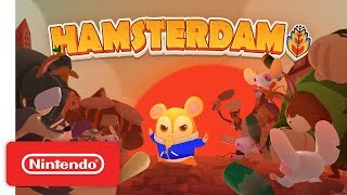 Hamsterdam - Launch Trailer - Nintendo Switch