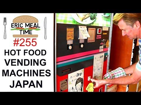 Hot Food Vending Machines in Japan #4 - Eric Meal Time #255