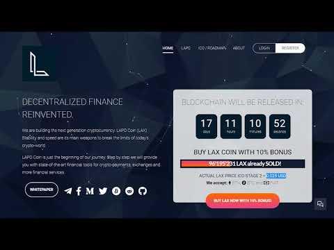 Революционная финансовая экосистема Lapo Blockchain