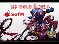 HFL SofM - Leesin đi rừng - KR SoloQ bậc Thách Đấu v5.4 - 732 LP