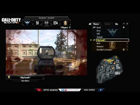 OpTic Gaming vs High Hopes - Game 1 - WBR6 - MLG Dallas 2013