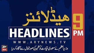 ARY News Headlines |Flames stoked in Occupied Kashmir to destroy India| 9PM | 20 September 2019