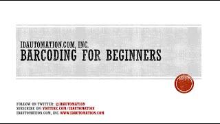 Barcode Teacher: Barcoding for Beginners