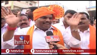 Public Response On balapur Laddu | Balapur Laddu Auction | hmtv