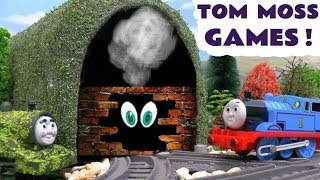 Thomas & Friends Tom Moss Toy Train Games with a Mystery Tunnel - Stories for Kids & children TT4U
