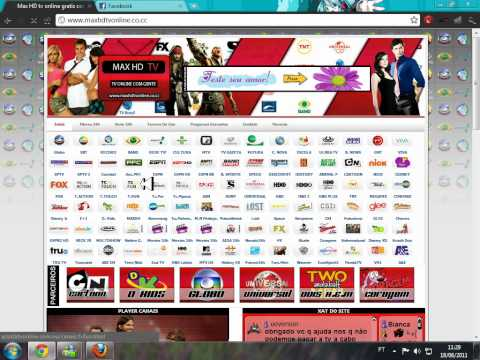 Como Assistir tv Online No MAX HD TV ONLINE Gratis!!!! 2011